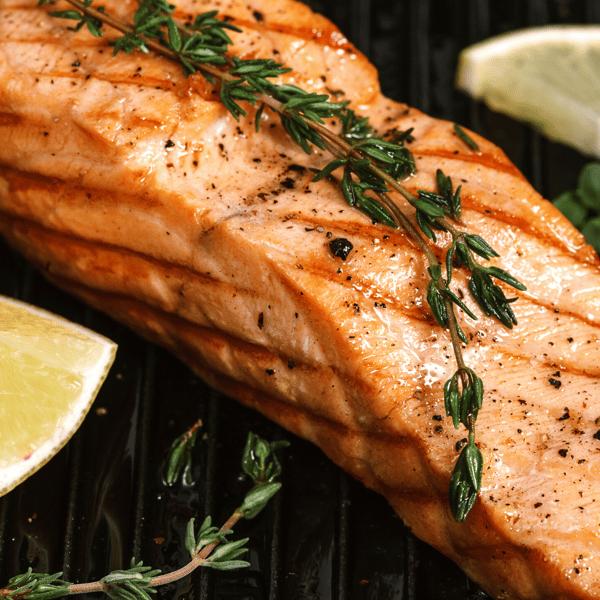 Lemon & Dill Grilled Salmon