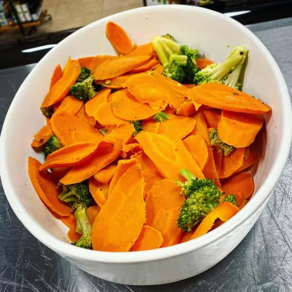 Carrot & Broccoli Medeley