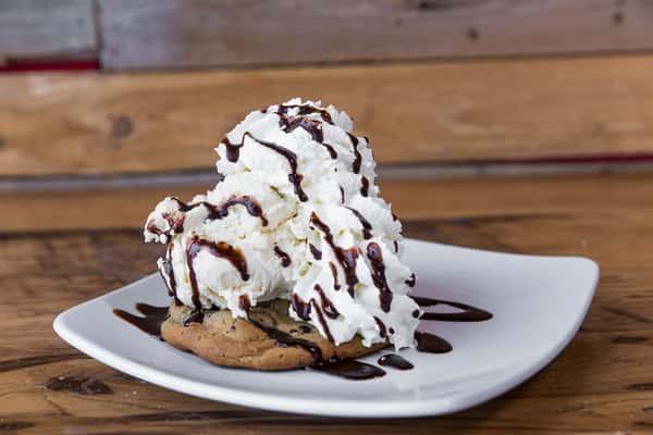 Chocolate Chip Cookie Sundae