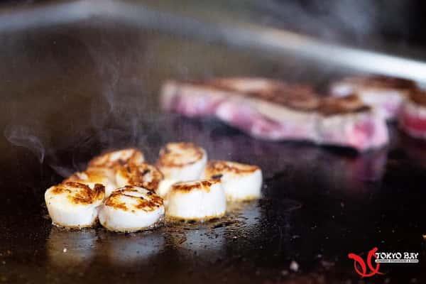 Scallops and Steak