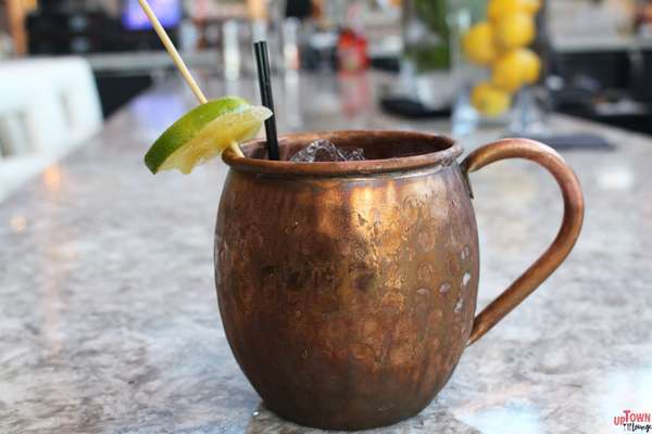Mules with housemade Ginger Beer