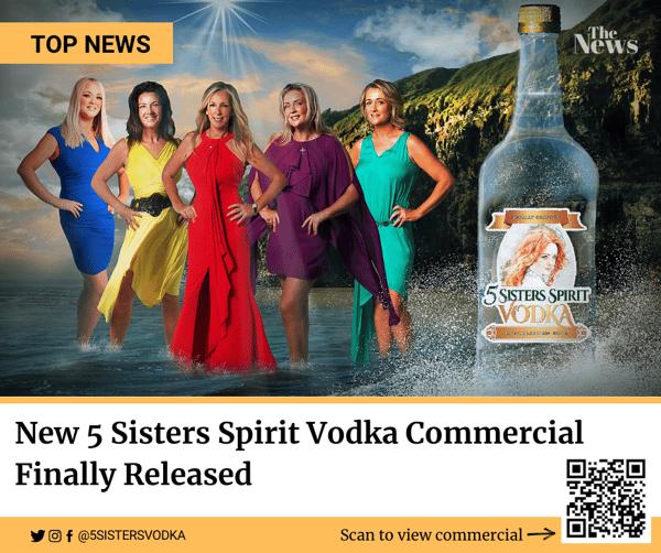 $24.99 Sister's Vodka To Go - 1 Liter