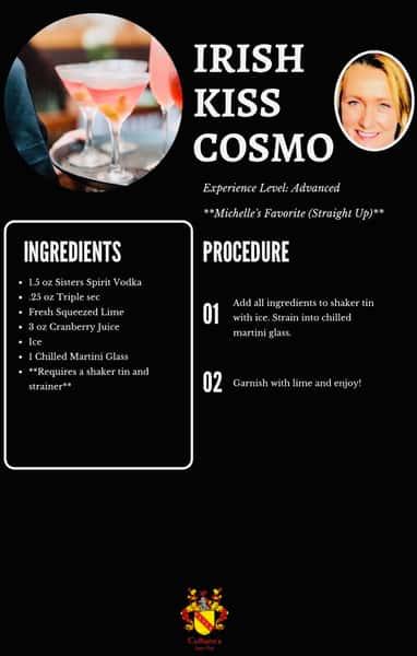 irish kiss cosmo