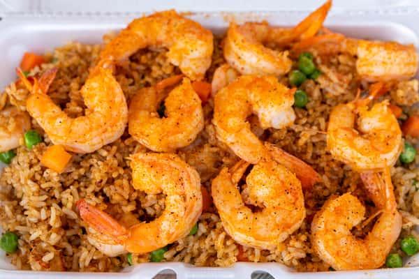 city box seafood fried rice