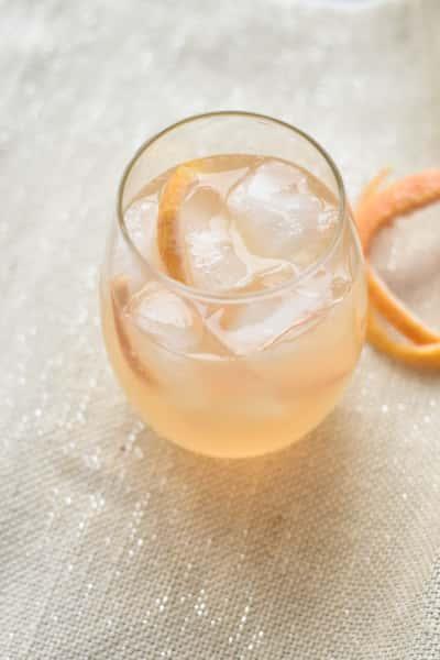 Grapefruit Basil Spritz
