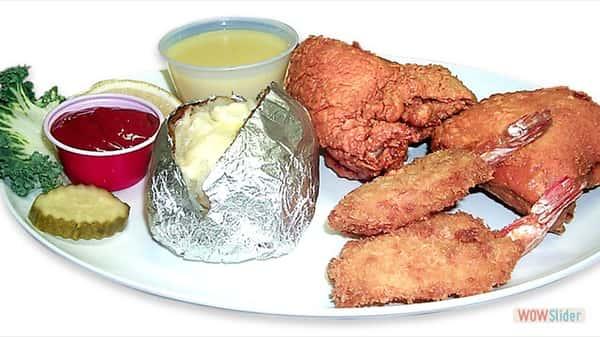 #25 Chicken & Shrimp