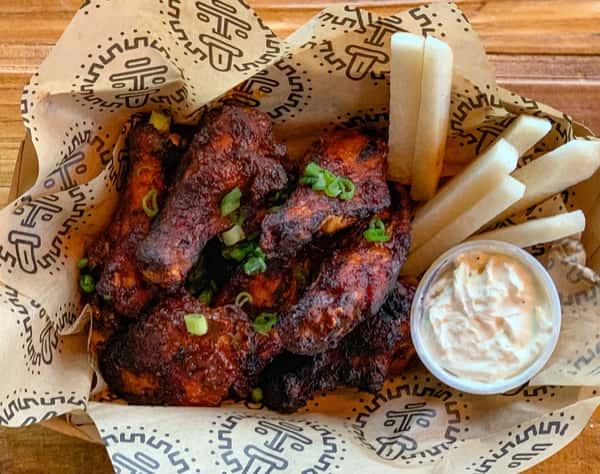 alitas chicken wings