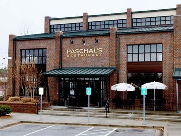 paschals outside