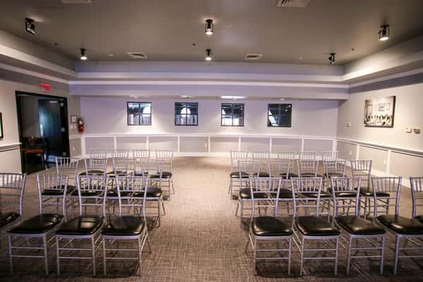 banquet room at paschals