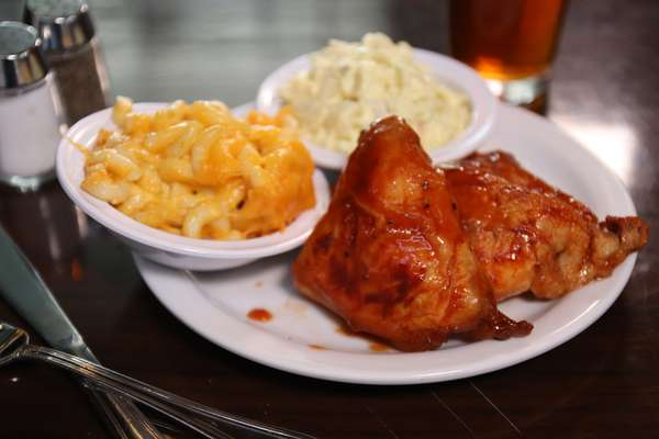 2 Pc BBQ Chicken Meal
