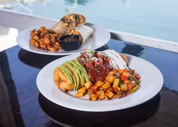 Food medley- burritos