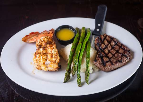 sirloin and lobster