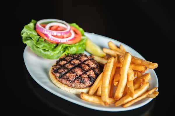 Local Farm-Raised Burger