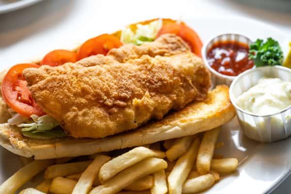"""1917 Famous Fish """"Sandwich"""""""