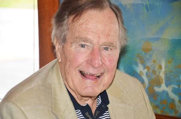 41st President of the United States, George W. Bush Sr.