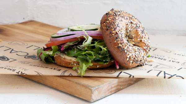 The Sprouted Bagel Sandwich