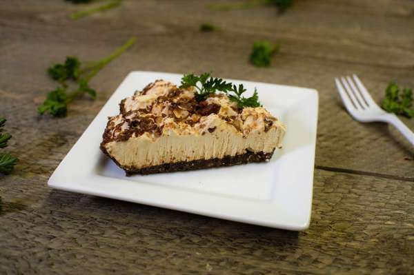 Reese's Peanut Butter Pie Slice