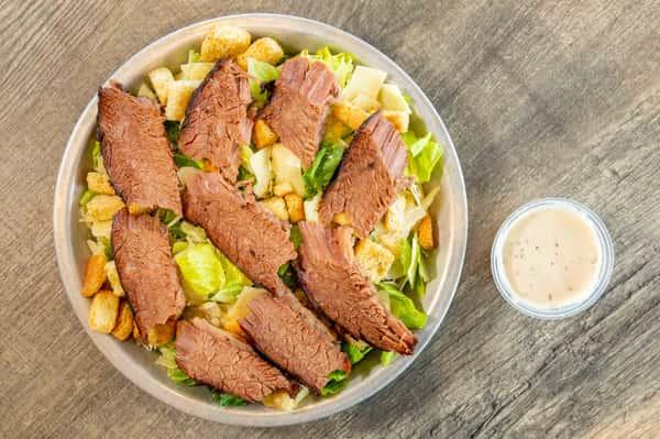 Brisket Caesar Salad