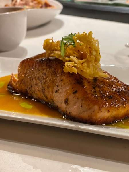 Passion Fruit Salmon
