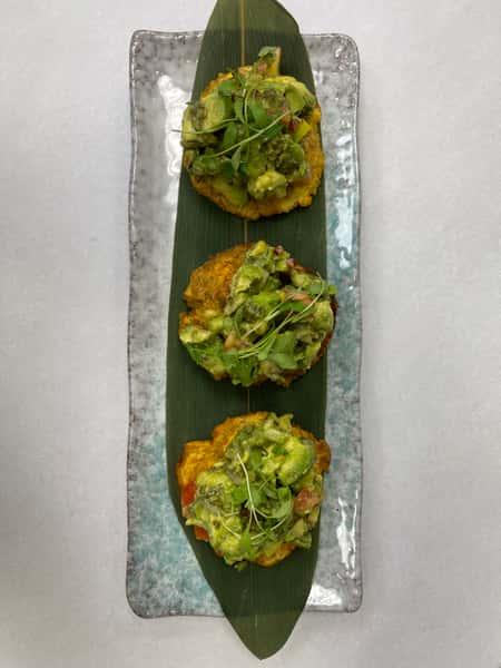 Avocado Tostones