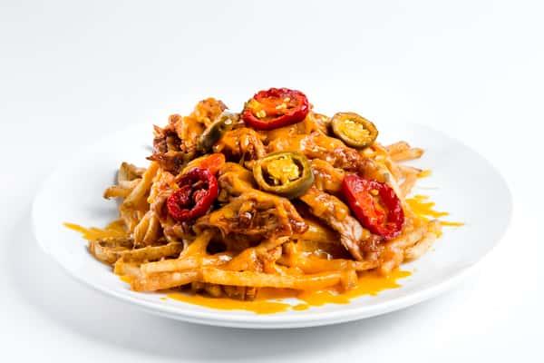 BBQ Chicken & Cheese Fries