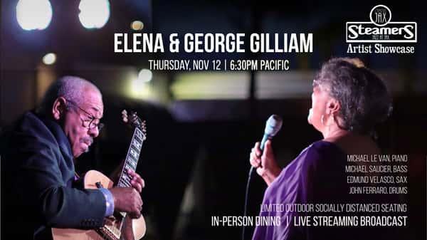 Steamers Jazz at JAX Artist Showcase: Elena and George Gilliam