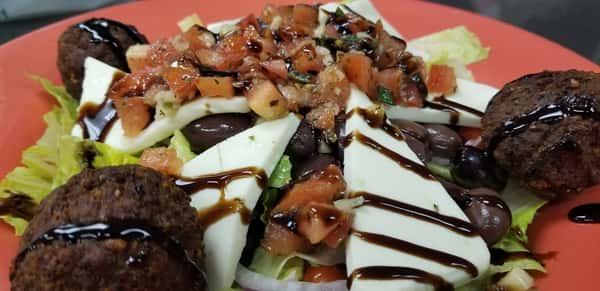 Meatza-Mozza Salad