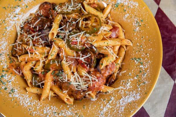 Sausage Picante Pasta