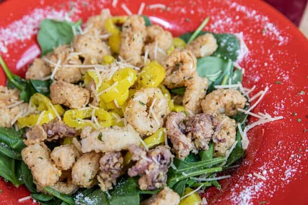 Calamari Crisp Sautee