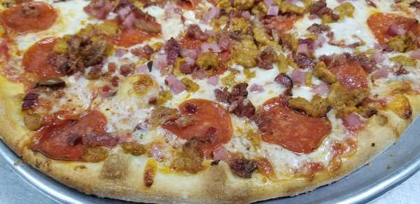"""#4 Pizza 'il Meat-a-dor"""" (Meat Lovers)"""