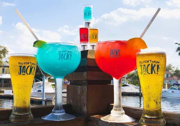 Caribbean Jack's cocktail