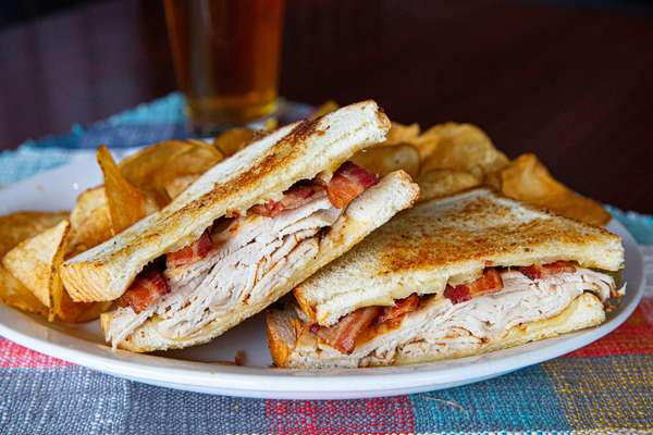 Grilled Turkey, Bacon & Havarti