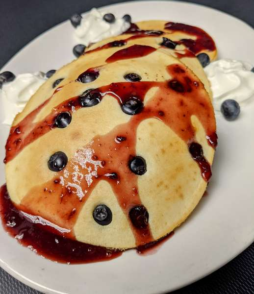 Blueberry Triple Stack