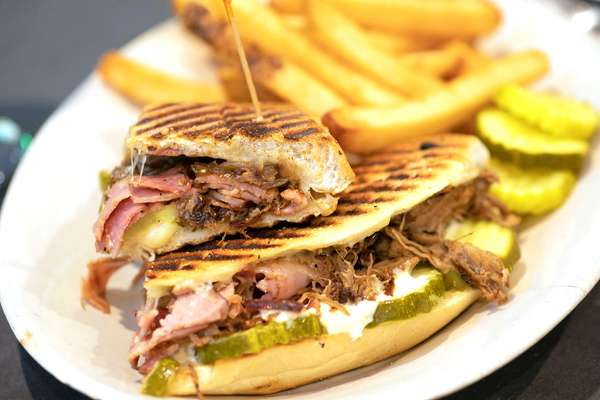 Cuban Panini Sandwich