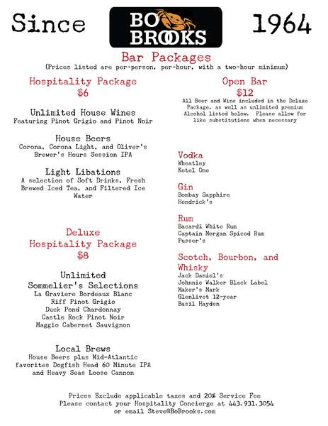 Bar Package