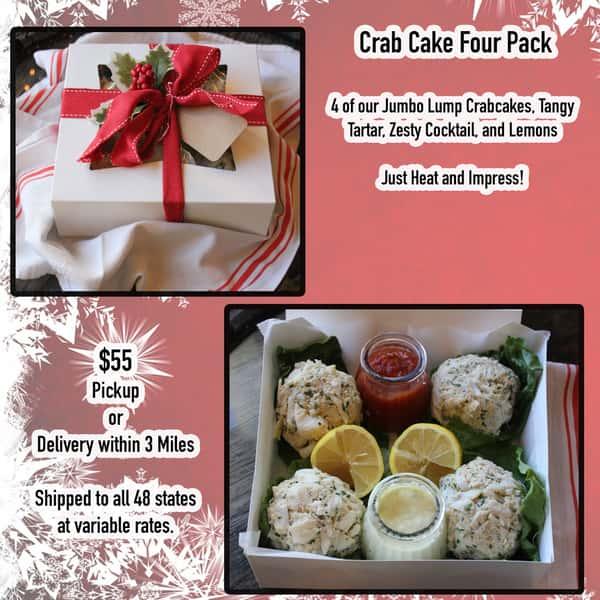 Crab Cake 4 Pack