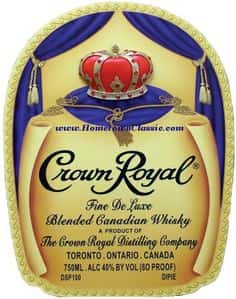 Whiskey- Crown Royal