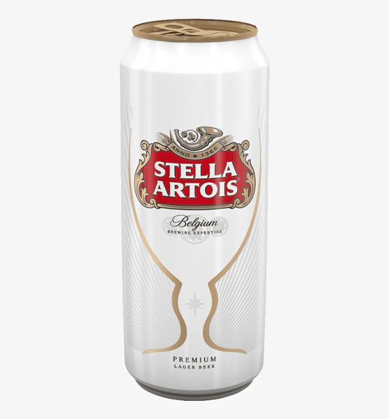 12oz Can- Stella Artois