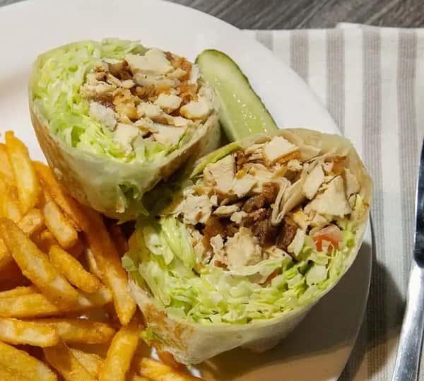 Chicken BLT Ranch Wrap