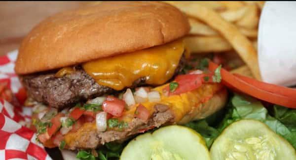 Big'z Chalupa Burger