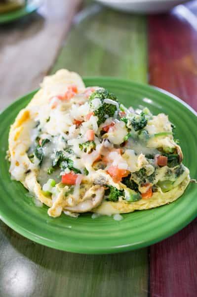 Veggie Omelete