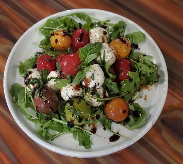 ~ heirloom caprese salad