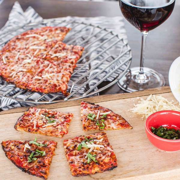 pizza sliced