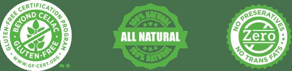 various nutrition logos