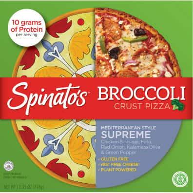Spinato's Mediterranean Supreme Pizza