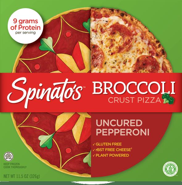 Spinato's Uncured Pepperoni Pizza