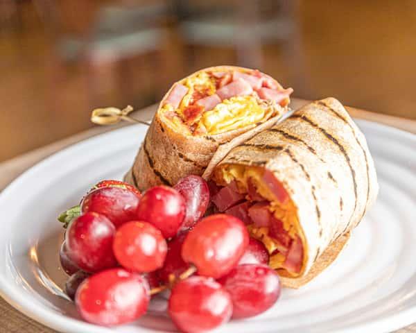Industry Breakfast Burrito