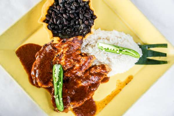 Mexican Mole Chicken