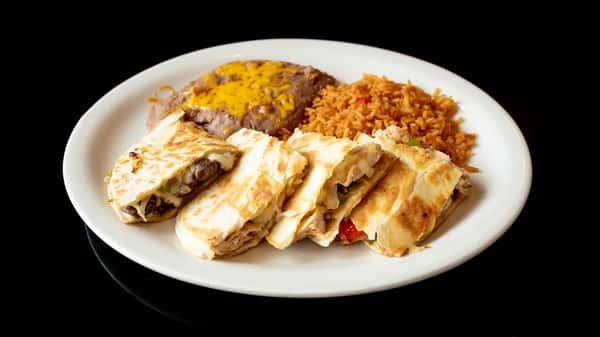 Beef Fajita Quesadilla