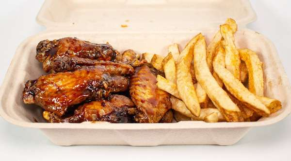 glazed wings box